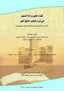 غلاف النسخة المطبوعة من كتاب شفاء الغليل